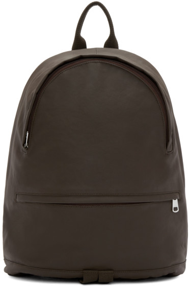 A.P.C. - Brown Coated Stefan Backpack