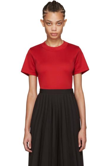 Junya Watanabe - Red Cotton T-Shirt