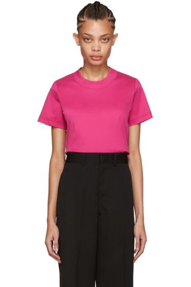 Junya Watanabe - Pink Cotton T-Shirt