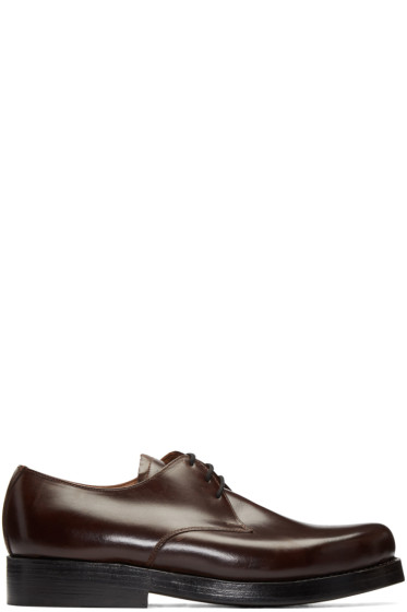 Junya Watanabe - Brown Heinrich Dinkelacker Edition Derbys