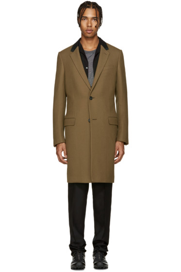 Lanvin - Tan Wool Coat
