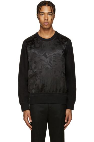 Alexander McQueen - Black Camo Skull Pullover