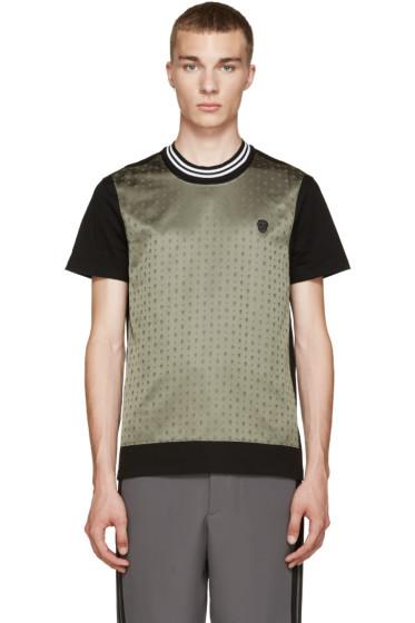 Alexander McQueen - Black & Green Skull T-Shirt