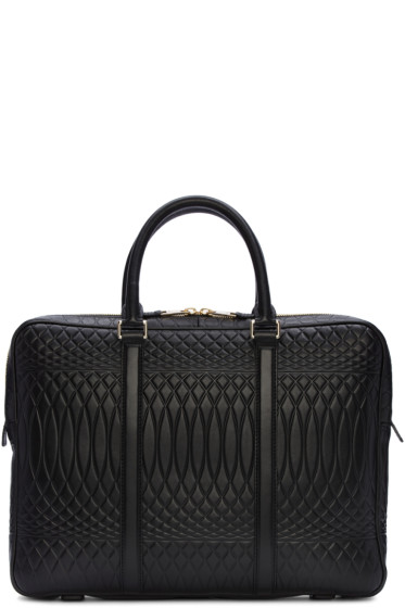 Paul Smith - Black Embossed No.9 Briefcase