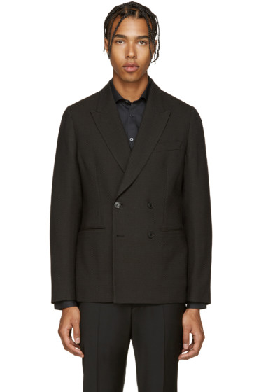Paul Smith - Black Textured Wool Blazer