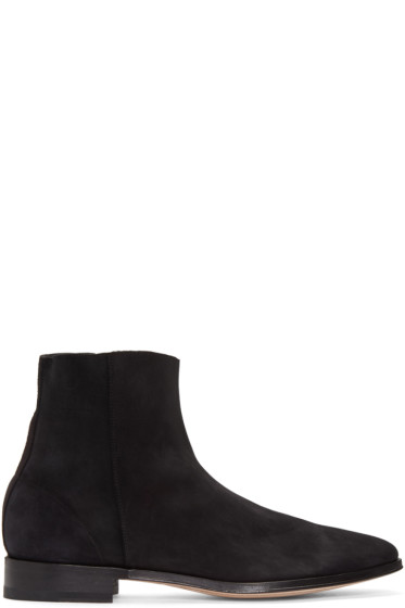 Paul Smith - Black Suede James Boots