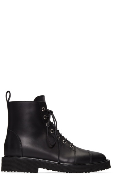 Giuseppe Zanotti - Black Hillary Ankle Boots