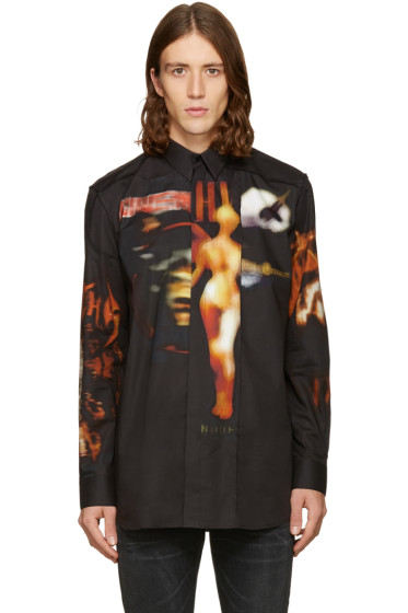 Givenchy - Black Heavy Metal Shirt