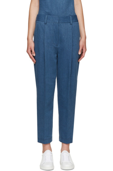 3.1 Phillip Lim - Indigo Twill Carrot Trousers