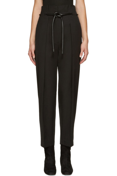 3.1 Phillip Lim - Black Origami Trousers