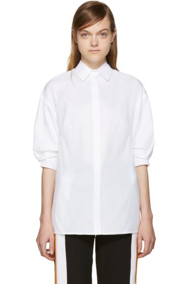 3.1 Phillip Lim - White Poplin Shirt