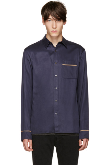3.1 Phillip Lim - Navy Pyjama Shirt