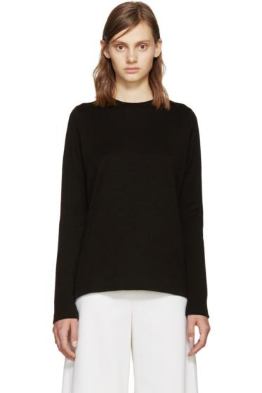 Proenza Schouler - Black Side Slit Sweater