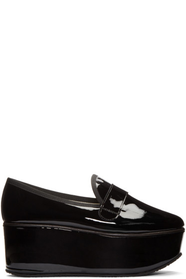 Repetto - Black Patent Leather Dary Loafers