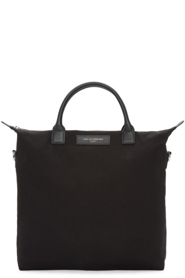 Want Les Essentiels - Black Canvas O'Hare Tote