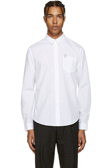 Carven - White Paperclip Shirt