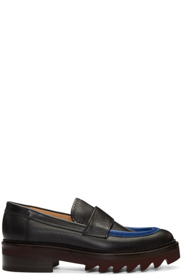 Carven - Black Leather Loafers