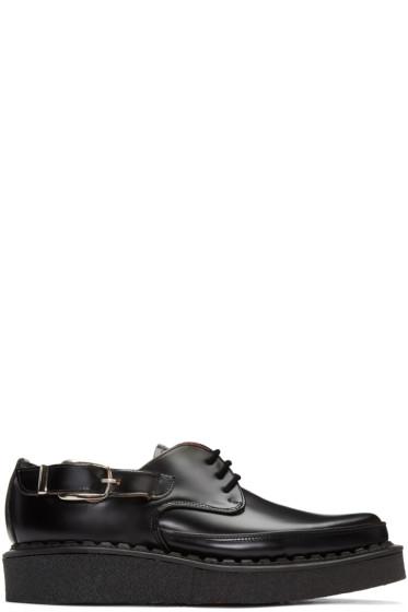 Comme des Garçons Homme Plus - Black Leather Creepers