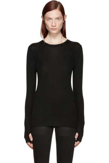 BLK DNM - Black Merino Sweater