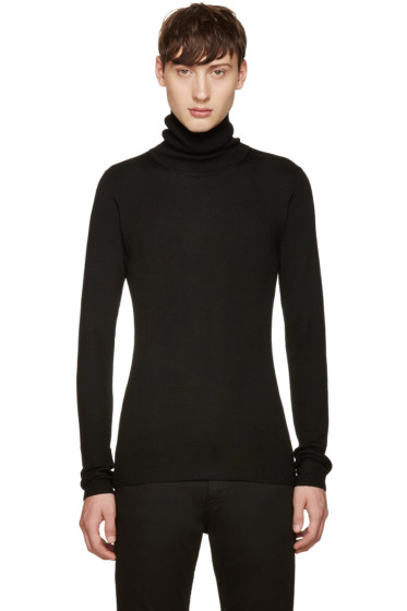 BLK DNM - Black Ribbed 61 Turtleneck