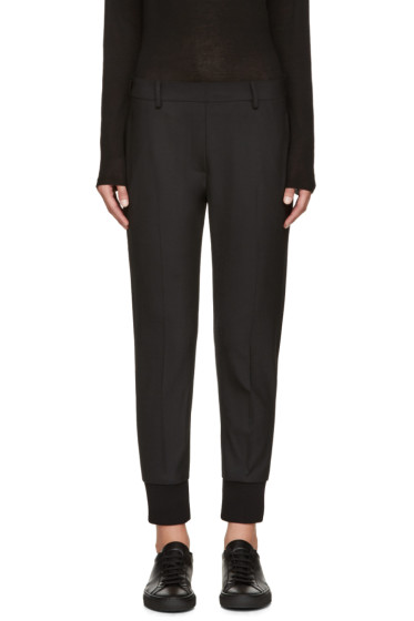 Neil Barrett - Black Stretch-Wool Trousers