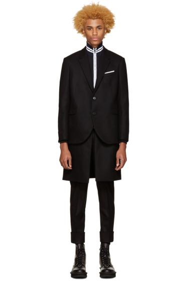 Neil Barrett - Black Hybrid Coat