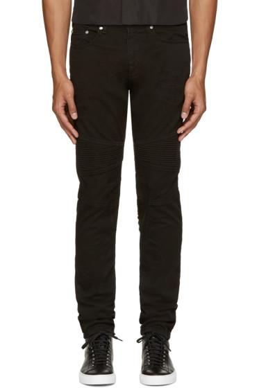 Neil Barrett - Black Biker Jeans