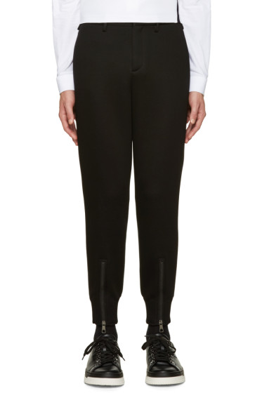Neil Barrett - Black Neoprene Trousers