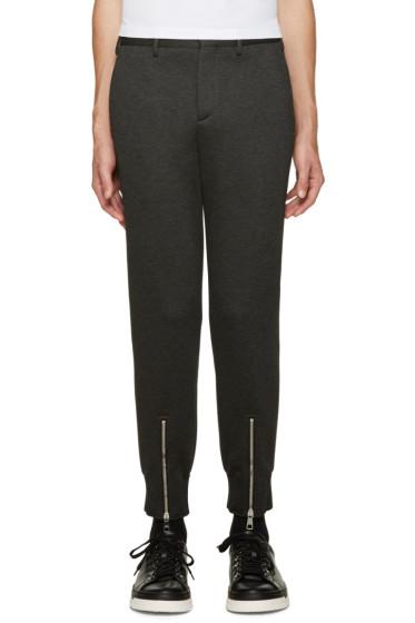 Neil Barrett - Grey Neoprene Trousers