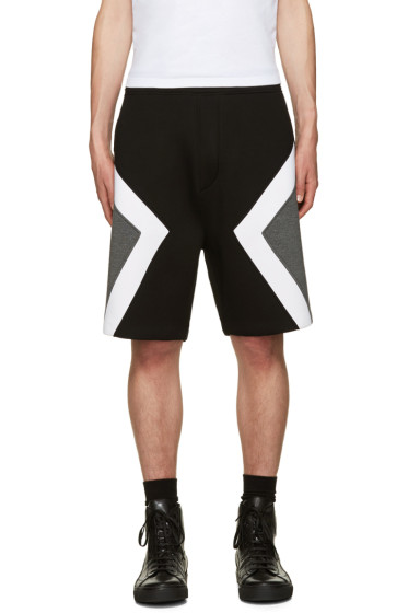 Neil Barrett - Tricolor Modernist Shorts