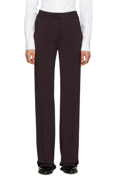 Burberry - Brown Sport Stripe Trousers