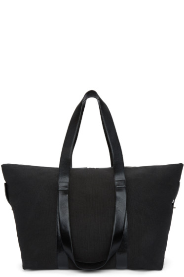 Ann Demeulemeester - Black Canvas Weekender Bag