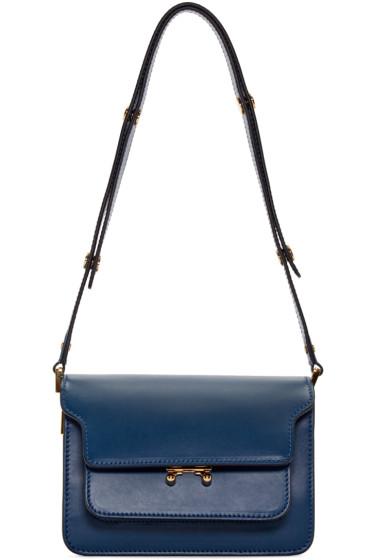 Marni - Blue Small Trunk Bag