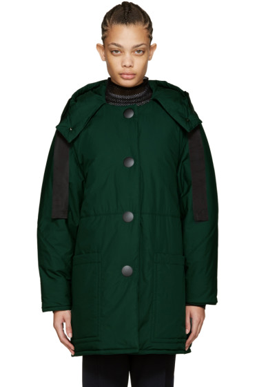Marni - Green Down Coat