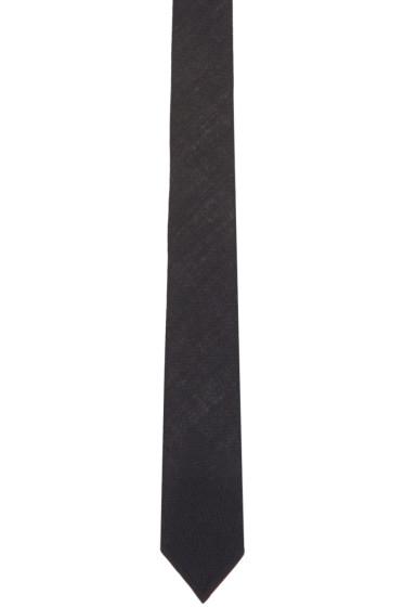 Thom Browne - Navy Wool Classic Tie
