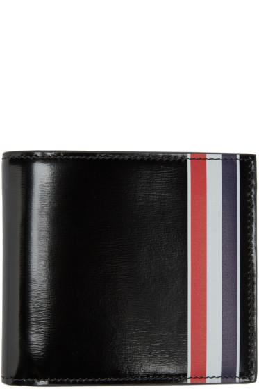 Thom Browne - Black & Tricolor Wallet