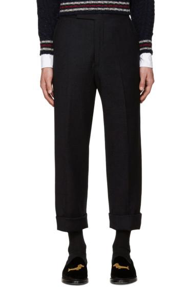 Thom Browne - Navy Beltloop Trousers