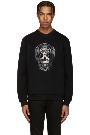 Markus Lupfer - Black Skull Logo Pullover