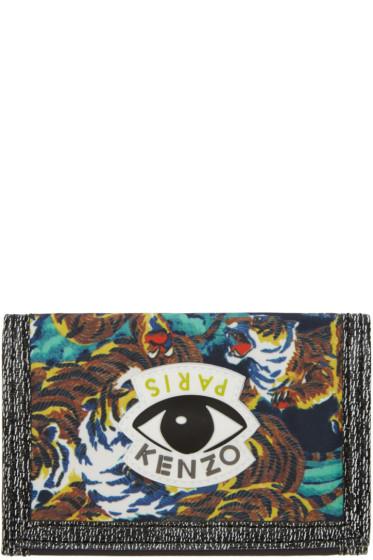 Kenzo - Multicolor Signature Prints Wallet