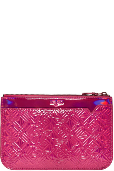 Kenzo - Pink Flying Logo Pouch