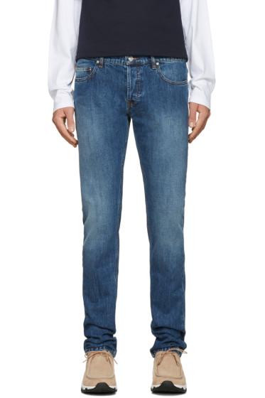 Kenzo - Navy Stone Washed Jeans