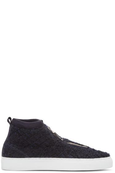 Diemme - Navy Tweed Fontesi Sneakers