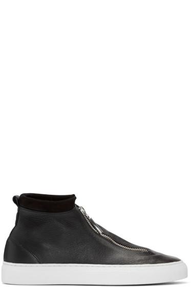 Diemme - Black Deerskin Fontesi Sneakers