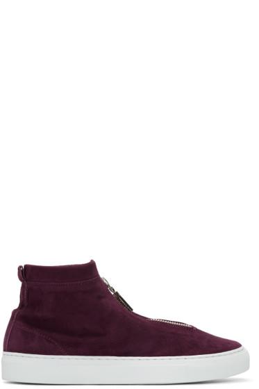 Diemme - Burgundy Suede Fontesi Sneakers