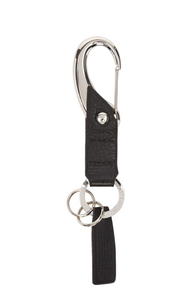 Master-Piece Co - Black Leather Keychain
