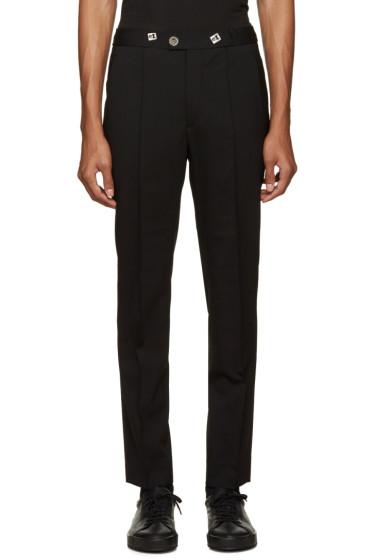 Versus - Black Drawstring Trousers