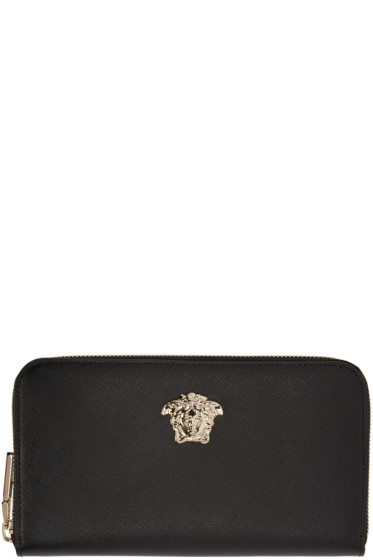 Versace - Black Medusa Continental Wallet