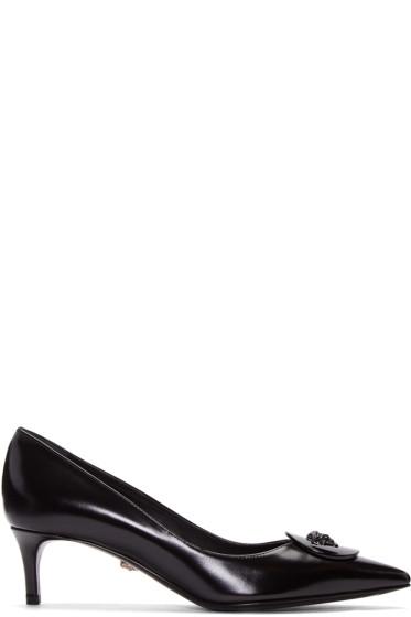 Versace - Black Medusa Heels