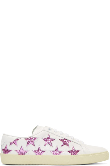 Saint Laurent - Off-White Signature Court Classic SL/06 California Sneakers