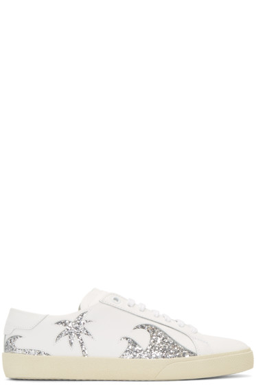 Saint Laurent - Off-White Court classic SL/06 California Sea Sex Sun Sneakers
